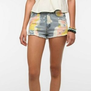 BDG High Rise Dree Cheeky Shorts Cotton Candy